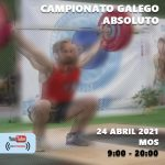 CAMPIONATO GALEGO ABSOLUTO DE HALTEROFILIA | 2ª XORNADA LIGA GALEGA DE CLUBES 24 ABRIL 2021